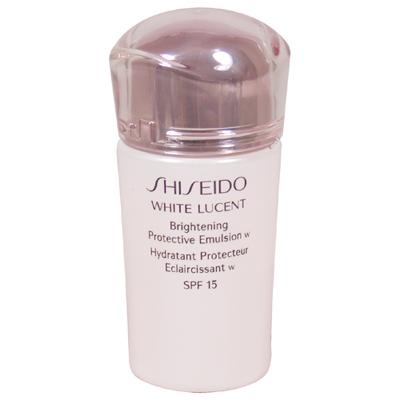 SHISEIDO資生堂 美透白活膚乳W(日間)SPF15 PA++(15ml)-舊款-2017.12