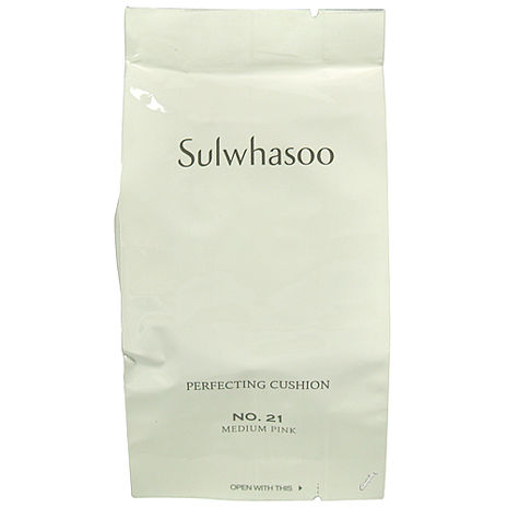 Sulwhasoo雪花秀 完美絲絨氣墊粉霜粉蕊SPF50+PA+++15g#21