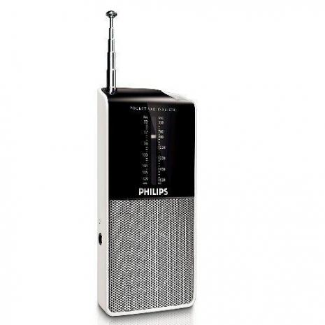 【促銷】PHILIPS飛利浦迷你口袋收音機 AE1530(送原廠吊繩)