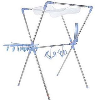 【寶媽咪】超世代X型空間大師專利曬衣架-居家日用.傢俱寢具-myfone購物