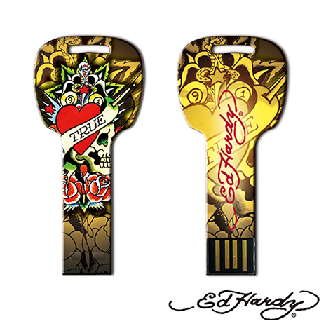 Choicee x Ed Hardy USB KEY 4GB 珍愛刺青圖騰