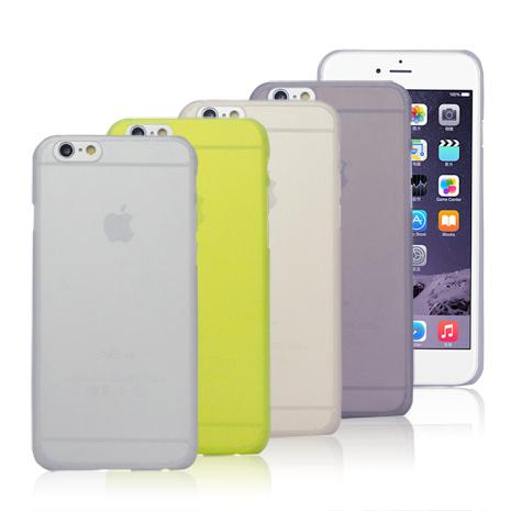 AGEX iPhone 6/6S (4.7吋)薄型磨砂保護殼-四色