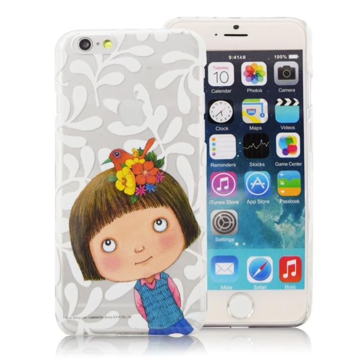 幾米 iPhone6/6s (4.7)透明手機殼- 喜鵲小完美