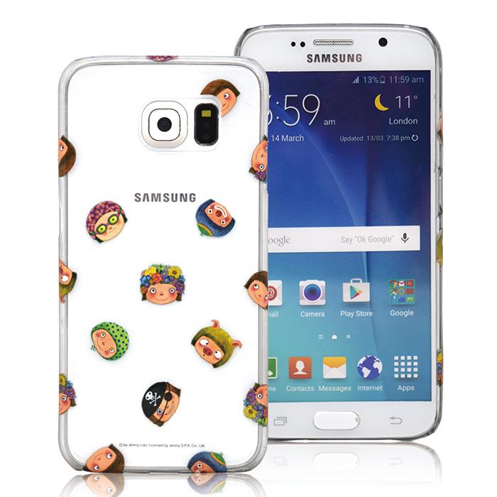 幾米 Samsung S6 透明手機殼- 百變小完美