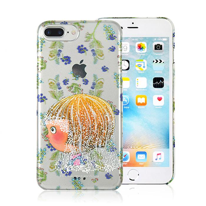 幾米 iPhone 7 Plus 5.5吋 透明手機殼-新娘小完美-手機平板配件-myfone購物