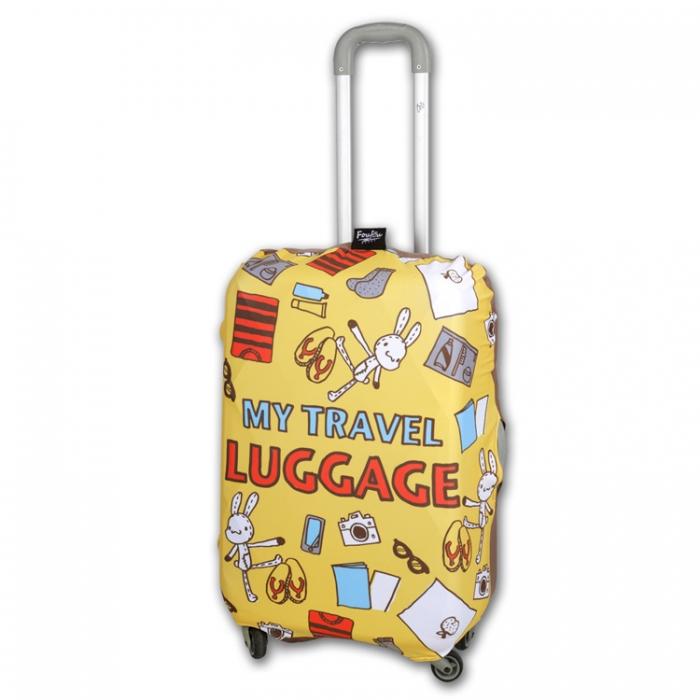 《Foufou》繽紛行李箱套- travel luggage(S)