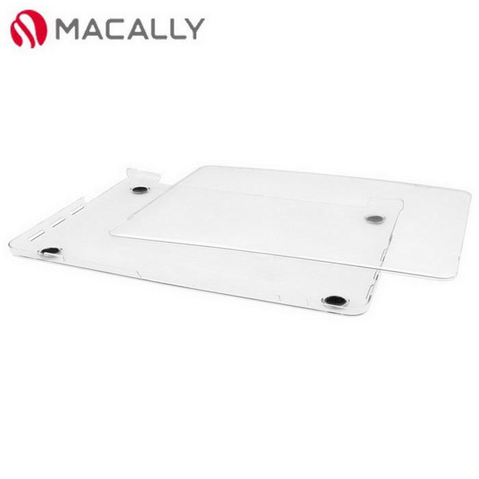 【Macally】13吋APPLE MacBook Pro透明上下蓋保護硬殼(PROSHELL13)