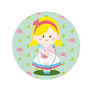 (任選)【2EASY】無痕掛勾 單掛鉤-夢幻愛麗絲