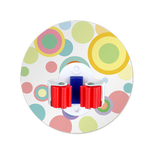 (任選)【2EASY】無痕掛勾 工具夾單(小)-大圓點紅