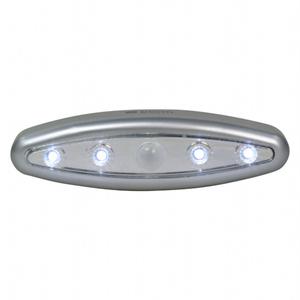 【KINYO】科技流線造型4燈泡智慧LED感應燈(SL-702)