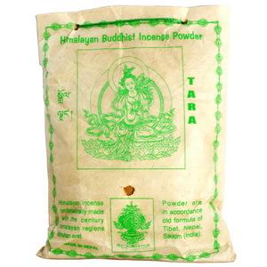 【藏傳佛教文物】度母 天然除障香粉 煙供粉-160g(PBI-09)