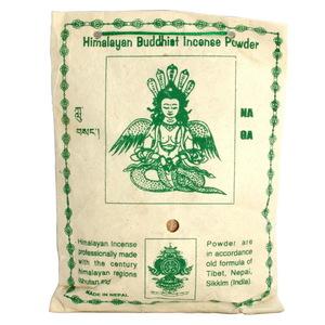 【藏傳佛教文物】龍王菩薩 天然除障香粉 煙供粉-160g(PBI-04)-5入