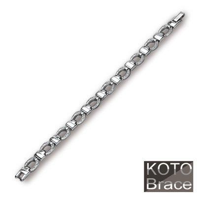 【KOTO】守護者 經典 白鋼 手鍊 / 手鏈 (S-070)
