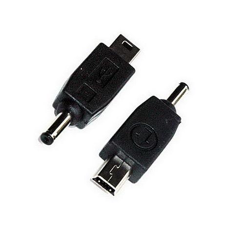 【FU】DC公轉mini USB充電轉接頭-1入(UC0015)