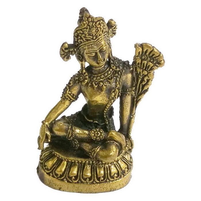 地藏王菩薩 4.5公分 小佛像/法像-古銅色