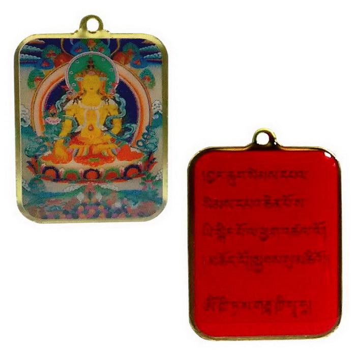 地藏王菩薩 正反雙面佛牌吊飾