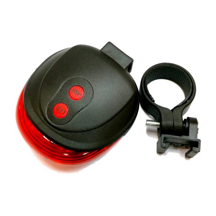 腳踏車安全雷射車尾燈(0622P)
