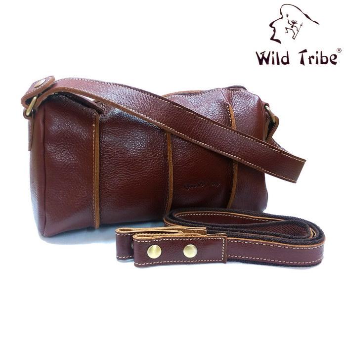 【Wild Tribe】真皮立體手提/側背兩用包(QP3675)