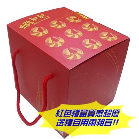 蝦叔叔大尾蝦酥禮盒25g*10包/箱 (5個工作天內出貨)