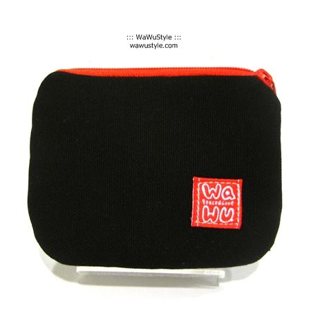 WaWu 小零錢包 (黑色帆布) 台灣製