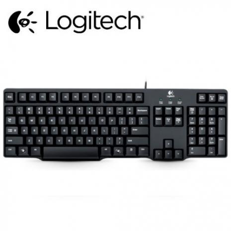 【Logitech羅技】K100 經典有線鍵盤PS/2 接頭