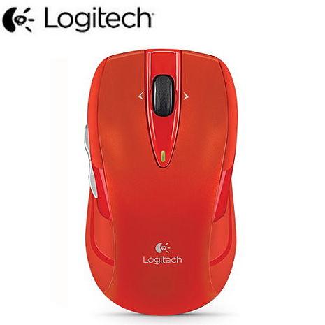 【Logitech羅技】M545無線滑鼠-紅