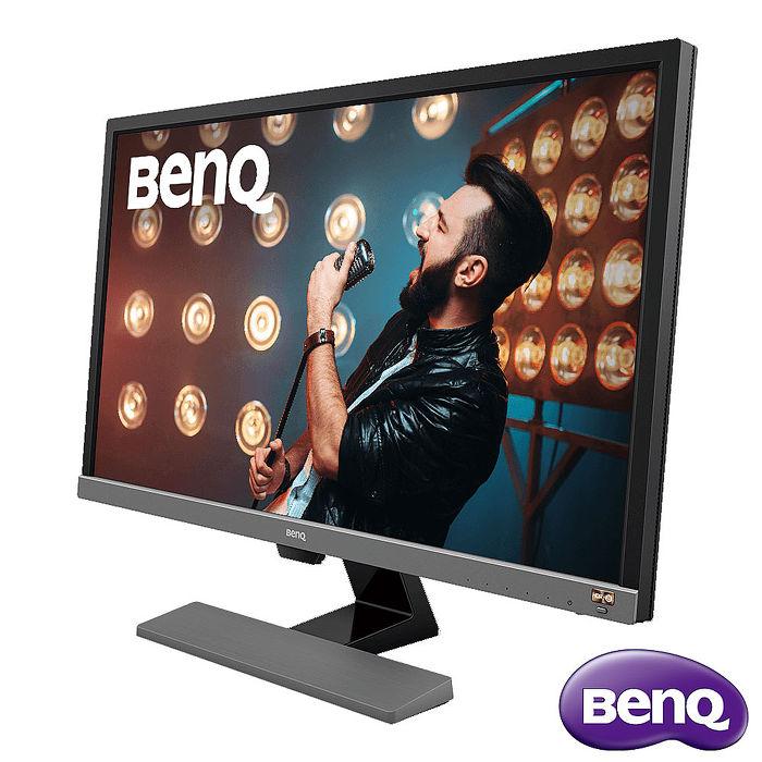BenQ 28型 EL2870U 電競4K 高速高清解析寬螢幕