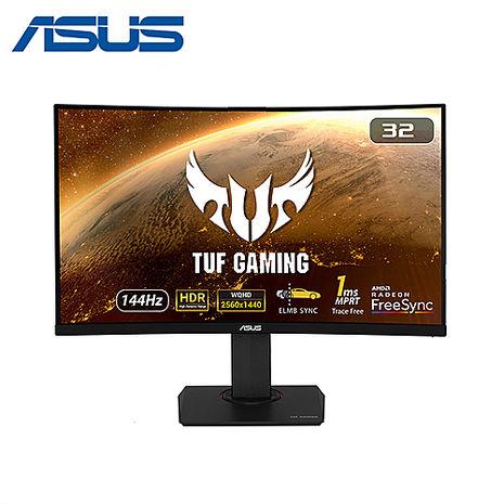 ASUS 華碩 TUF Gaming VG32VQ 32型曲面 HDR 電競螢幕