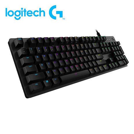 Logitech 羅技 G512 機械式電競鍵盤(GX觸感茶軸)