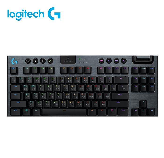 Logitech 羅技 G913 TKL 無線機械鍵盤 (類茶軸)
