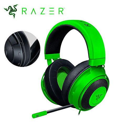 Razer 雷蛇 Kraken 北海巨妖耳機(新版) 綠色