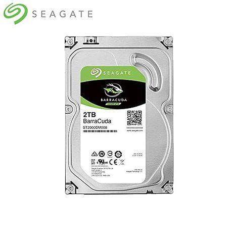 Seagate 希捷 2TB 3.5吋 SATAⅢ 桌上型硬碟 (ST2000DM008)