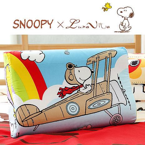 Luna Vita X SNOOPY加大兒童乳膠枕-5款可選