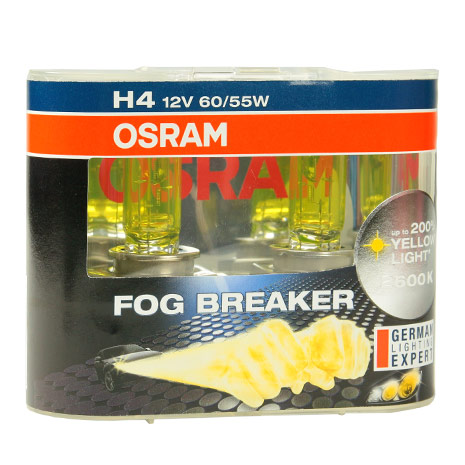 OSRAM 終極黃金2600K FOG BREAKER公司貨(H1/H3/H4)-相機.消費電子.汽機車-myfone購物