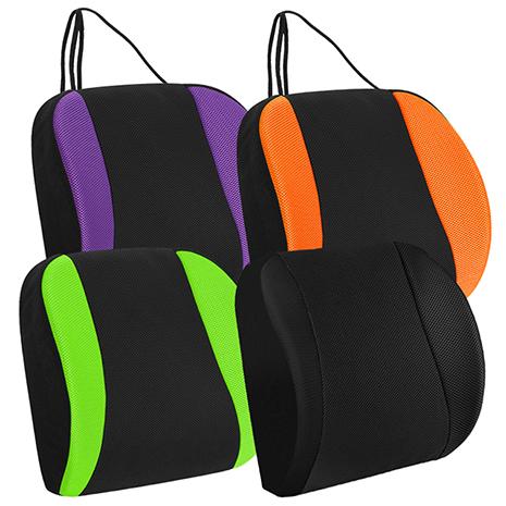 CARBUFF 車痴竹炭透氣加強記憶可調護腰/寬幅加大、加軟設計(紫/綠/橘/黑) MH-10165