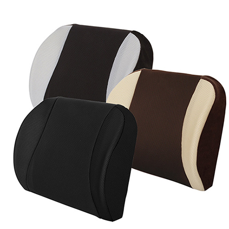 【源之氣】竹炭透氣護腰墊(透氣加強、寬幅加大設計●三色可選) RM-9429