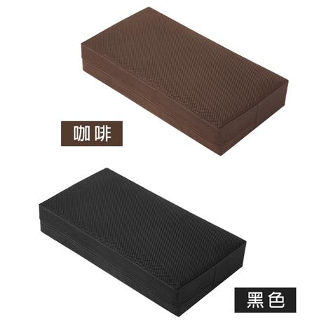 【源之氣】竹炭靜坐墊/小四方加高(二色可選) 21X45X9cm RM-40026