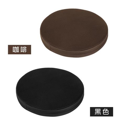 【源之氣】竹炭靜坐墊/小圓(二色可選) 36X6cm RM-40022
