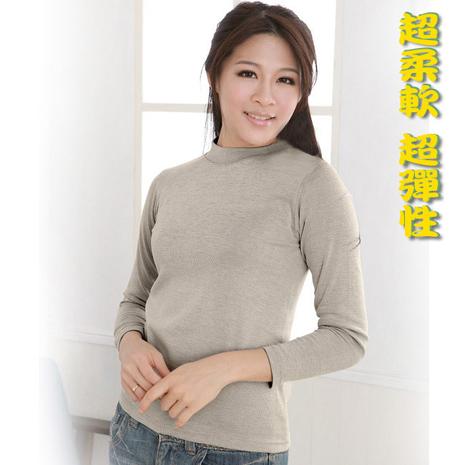 【源之氣】竹炭女立領保暖衣2件 RM-10098