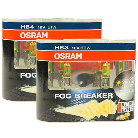 OSRAM 終極黃金2600K FOG BREAKER公司貨(9005 HB3/ 9006 HB4)
