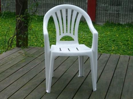Brother Club~兄弟牌歐式風情~白色塑膠椅