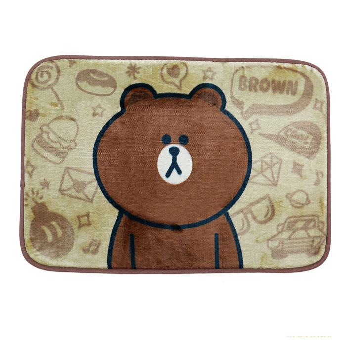 【BEDDING】熊大的幻想 居家防滑腳踏墊