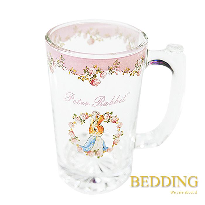 BEDDING【彼得兔玫瑰啤酒杯  315ml】-居家日用.傢俱寢具-myfone購物