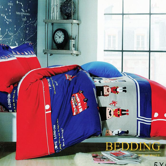 【BEDDING】英皇士兵 天絲雙人床包兩用被組100%TENCEL(特賣)