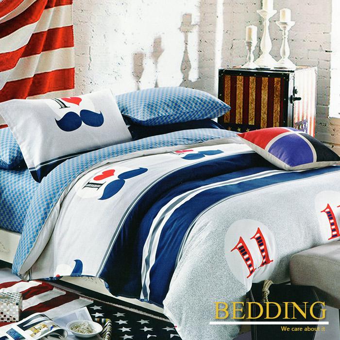 【BEDDING】記憶雙十一 100%棉雙人加大四件式床包被套組