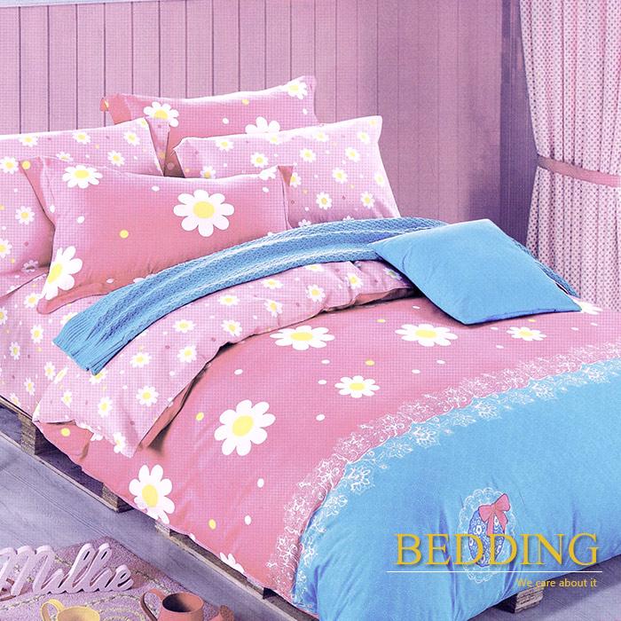 【BEDDING】少女情懷 100%棉雙人加大四件式床包被套組