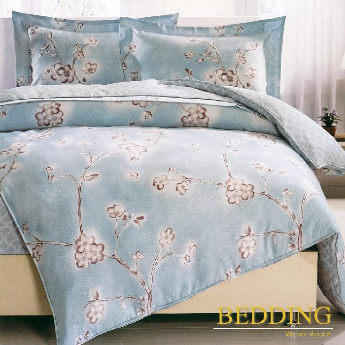 【BEDDING】班納歌舞 天絲雙人床包兩用被組100%TENCEL