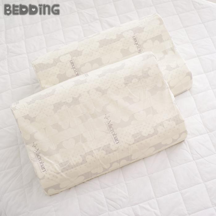 BEDDING - 100%純天然舒適乳膠枕 Microban乳膠枕 人體工學設計蜂巢氣孔