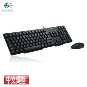 Logitech羅技 MK100 2代有線鍵盤滑鼠組(鍵盤:PS2/滑鼠:USB)