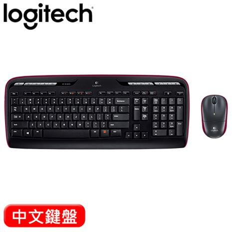 Logitech羅技 MK330  2.4G無線鍵盤滑鼠組(鍵盤:11個熱鍵/無聲按鍵 滑鼠:2.4G/Unifying)